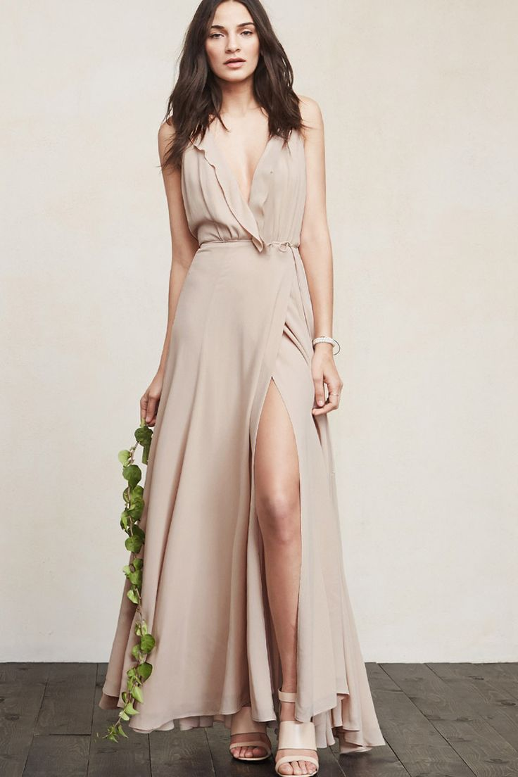 THE WEDDING COLLECTION   https://www.thereformation.com/products/arianna-dress-champagne?utm_source=pinterest&utm_medium=organic&utm_campaign=PinterestOwnedPins