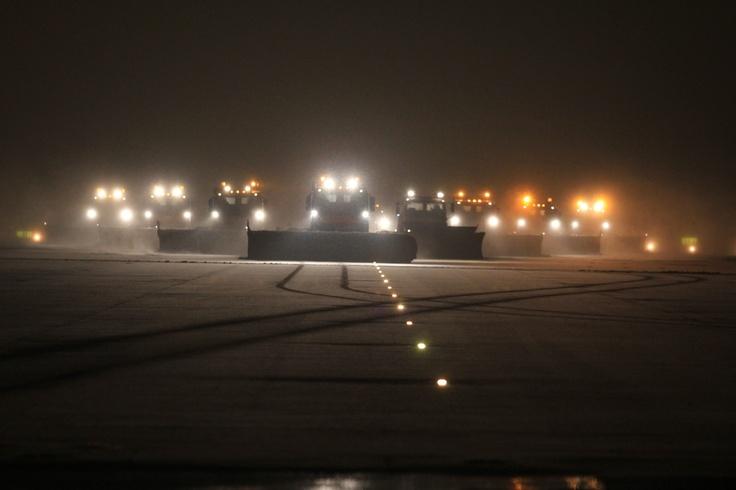 #winter #night #airport