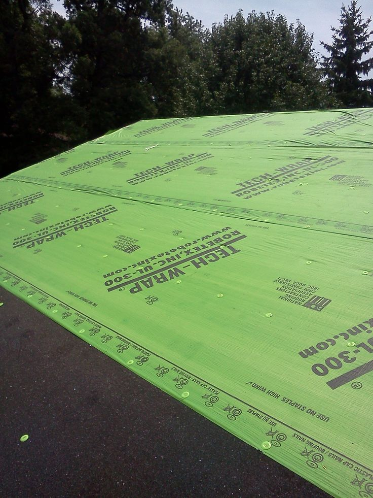 Synthetic underlayments for your roof. StyleCraft ONLY