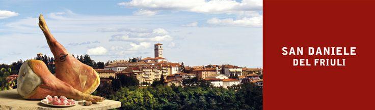 San Daniele del Friuli: perla della regione friulana dove nasce l'omonimo prosciutto crudo DOP.