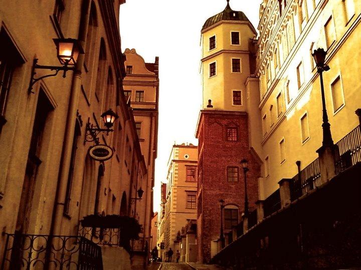 Ulica Kuśnierska / Kuśnierska Street.