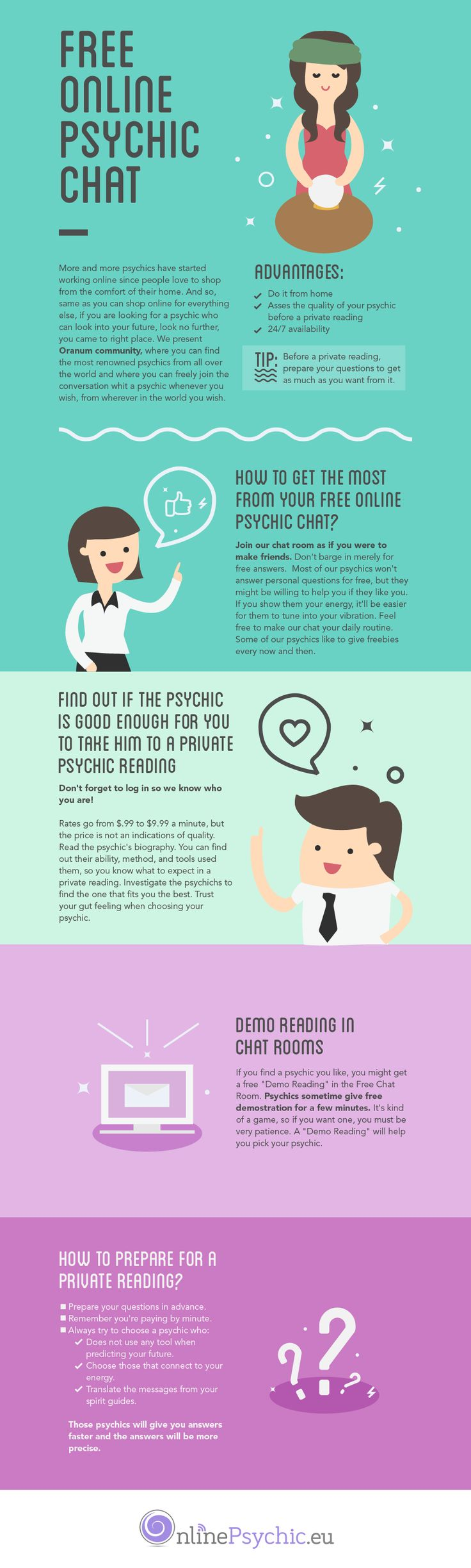 [infographic] How To Get Free Psychic Reading