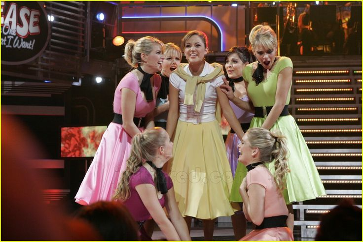 max crumm laura osnes grease broadway musical 08