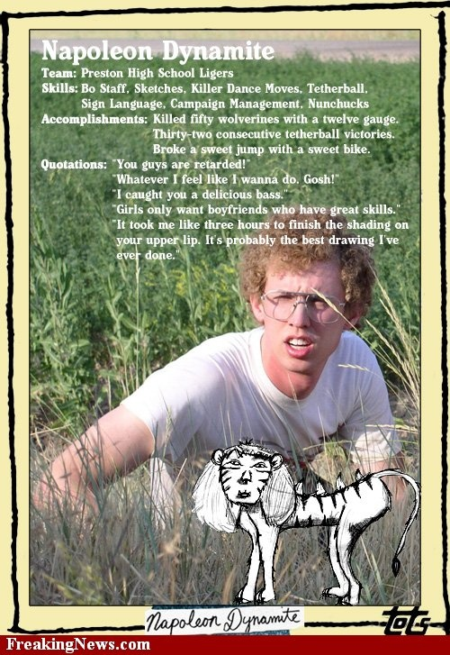 27 Best Napoleon Dynamite Quotes That Will Make You Laugh |Napoleon Freaking Dynamite Quotes Sweet