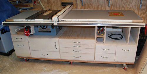My Table Saw Cabinet (work in progress) #1: So Far, So Good...(but needs tweaks) - by Freddo @ LumberJocks.com ~ woodworking community
