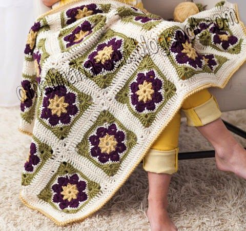 17+ best images about Crochet Afghans, Throws & Blankets ...