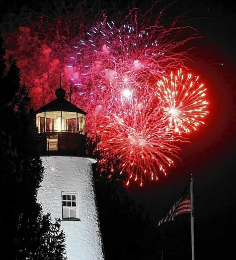 Best place to see the fireworks is from the Lantern Queen. Tickets available now at http://www.lanternqueen.com/Schedule.htm