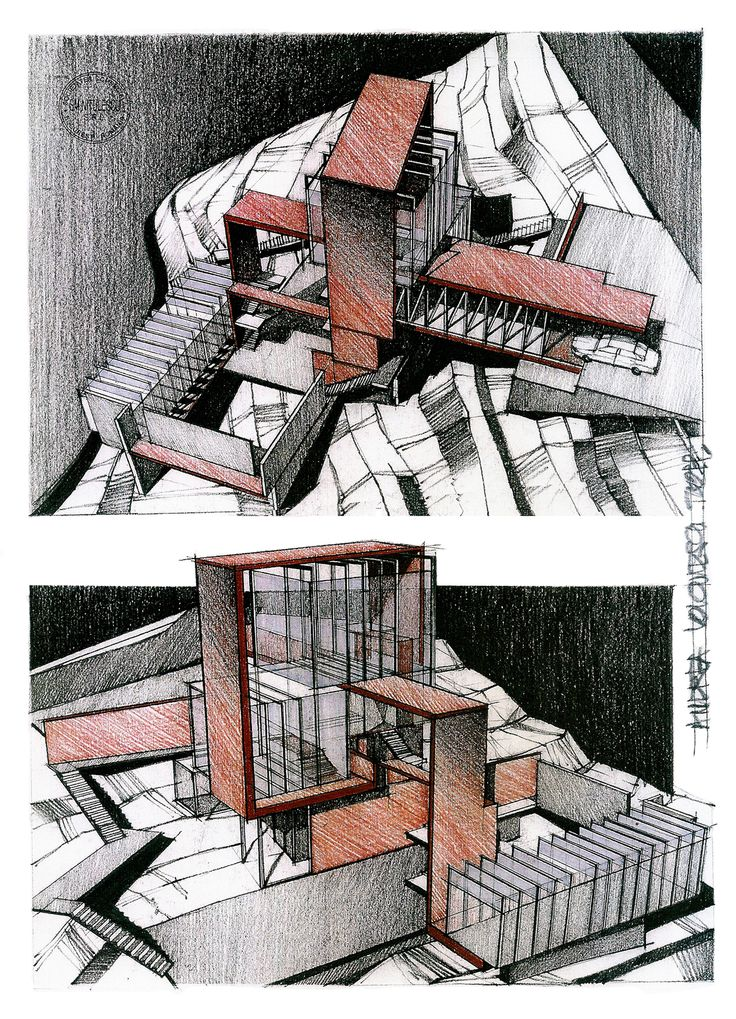 Artist's Home on Behance