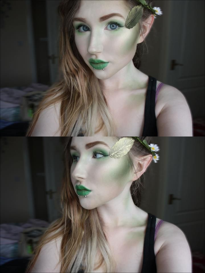 Elf makeup by herronat.deviantart.com on @deviantART