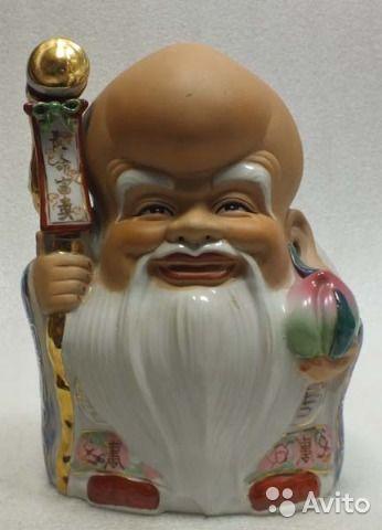 Большая фигура Шоусин бог здоровья и долголетия купить в Москве на Avito — Объявления на сайте Avito