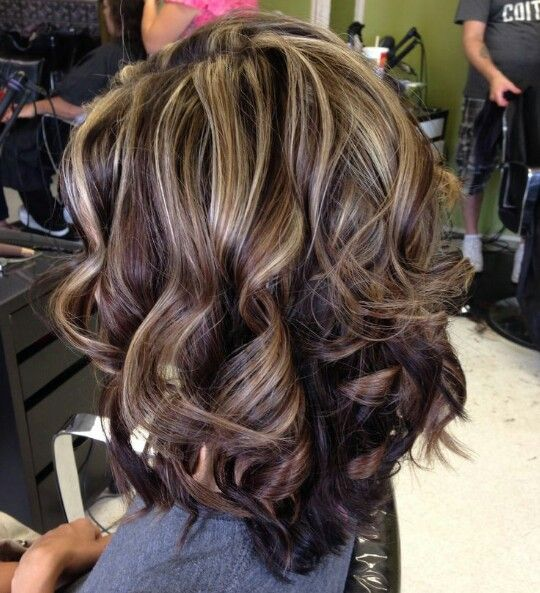 Best 25 dark hair with highlights ideas on pinterest dark hair brown hair with highlights pmusecretfo Image collections
