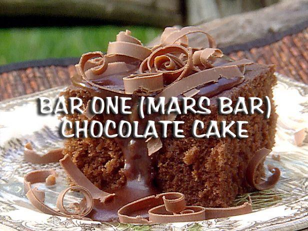 South African Recipes BAR ONE (MARS BAR) CHOCOLATE CAKE (Lisa Ann Pinnock)