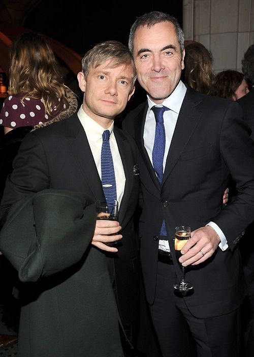 {Martin Freeman! And James Nesbitt! @Natalie :-)} --- Mad love for these guys. Such talent and heart.