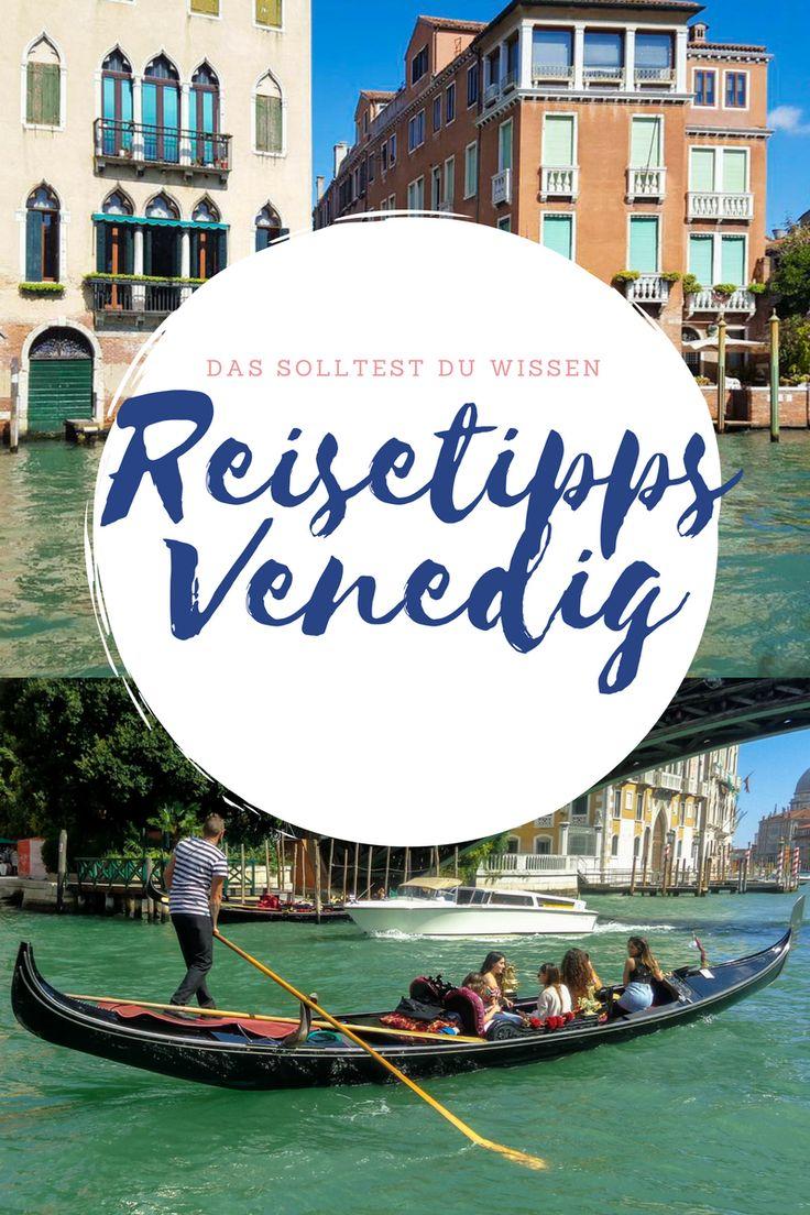 Eine Venedig Reise, sollte gut geplant sein. Darum habe ich für euch ein paar Reisetipps damit Ihr euren Urlaub in Venedig richtig genießen könnt