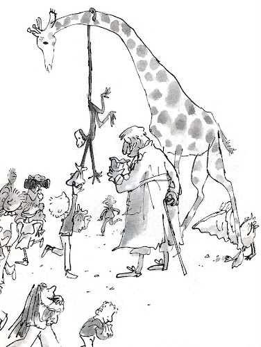 1985 The Giraffe and the Pelly and Me by Roald Dahl & Quentin Blake