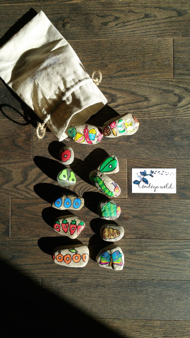 The Very Hungry Caterpillar Reading ROCKS! by madebyindigowild on Etsy