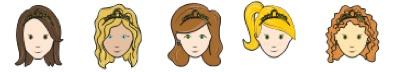 #Princess party Characters @KingdomofAzuria