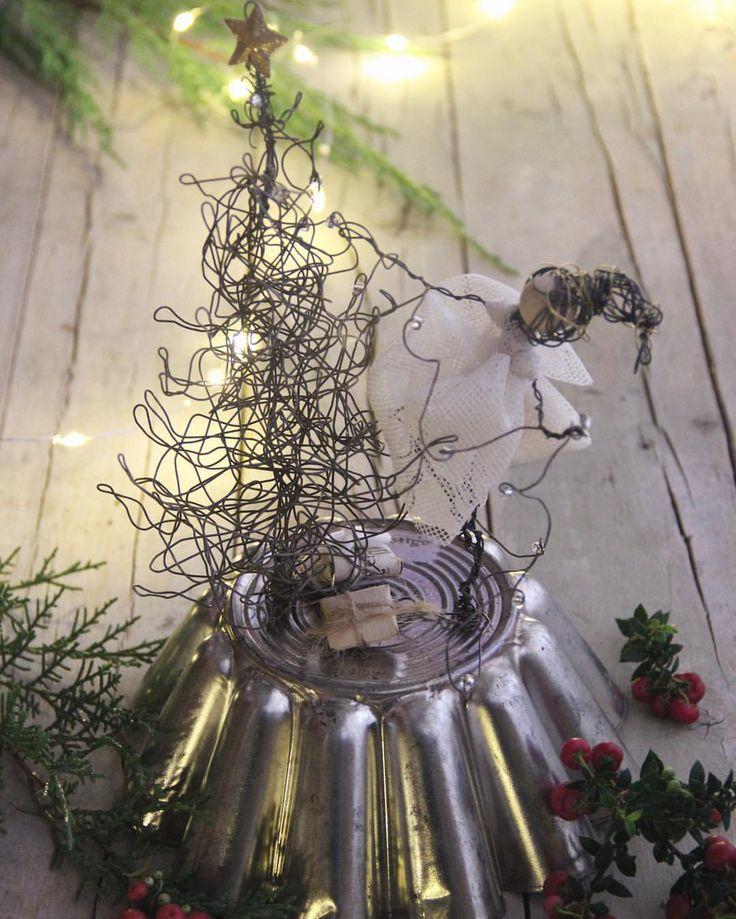 """""""Mi piace"""": 276, commenti: 13 - Daniela Corti•Wire & Textile (@filidipoesia) su Instagram: """"Here you are!! Welcome December Eccolo qui il nostro mese preferito! Da oggi trovate tante novità…"""""""