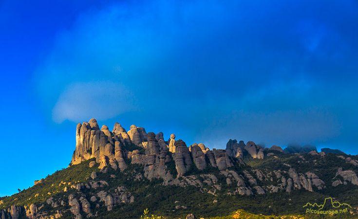 Agulles de Montserrat desde El Bruc, Barcelona, Catalunya