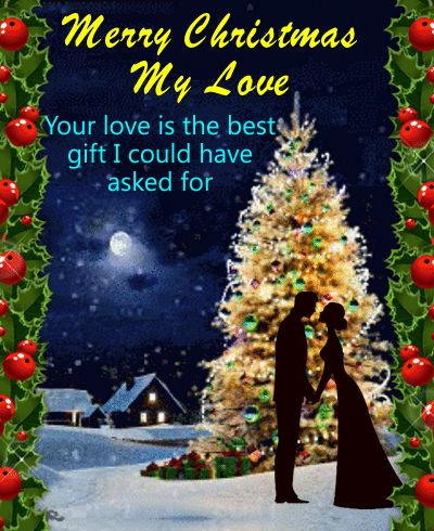 114 best animated christmas cards images on pinterest animated send this christmas love ecard to your beloved and make his her day beautiful m4hsunfo