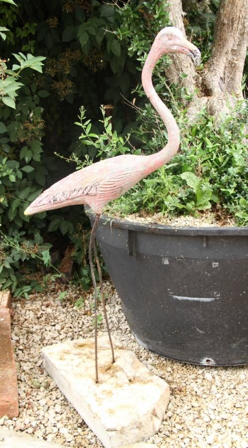 39 Best Images About Concrete Flamingos On Pinterest Design Files Kitsch And Mid Century Modern