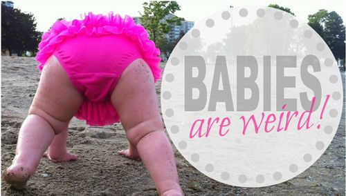 Do you #want to know about the #weird #things about the #babies? Congratulations! And welcome in the world of #parenthood. If you recently became a #parent then all the things are peculiar for you.