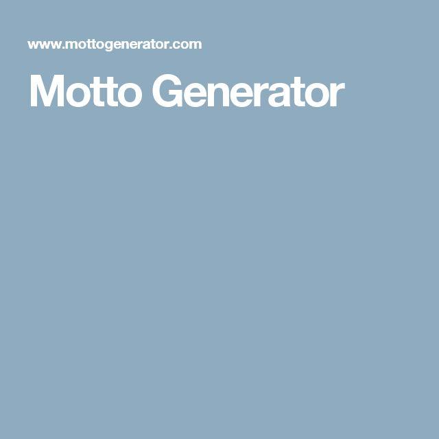 motto generator