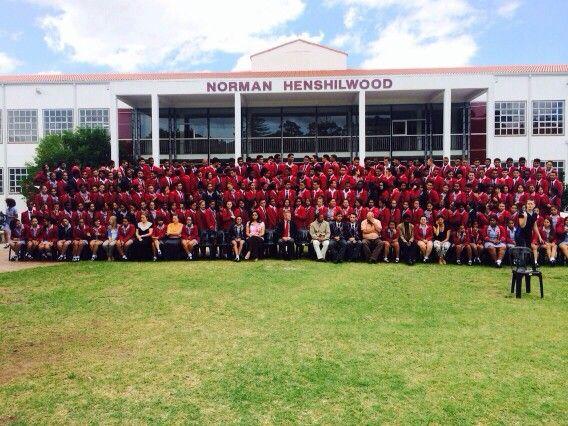 Ladies and gentlemen, I present to you, Norman Henshilwood High School's Matric class of 2015.