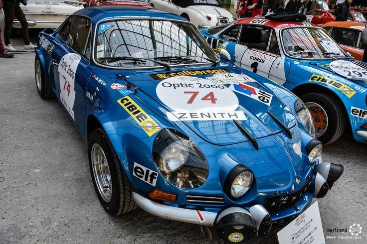 Alpine A110 au départ du TourAuto au Grand Palais. Reportage complet : 2016-verifs-grand-palais/ ClassicCars Voitures Anciennes Racing