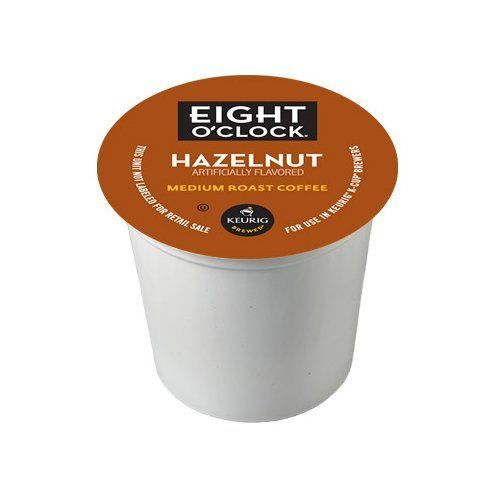 Eight O'Clock Coffee Hazelnut Coffee Beans, 120 K-Cups >> For more information, visit now : K Cups