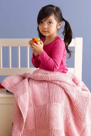 Princess Basketweave Throw | AllFreeKnitting.com basket weave is an easy pattern for knitting beginners