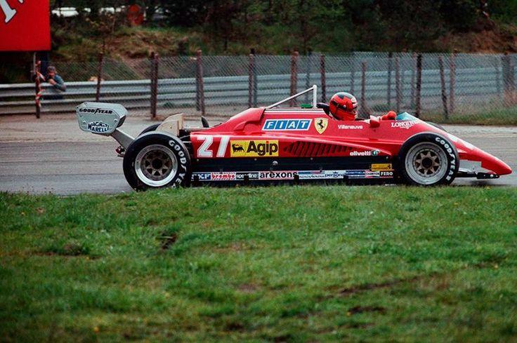 Gilles Villeneuve, Zolder 1982