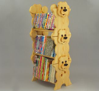 Book Stack Rack Wood Project Plan