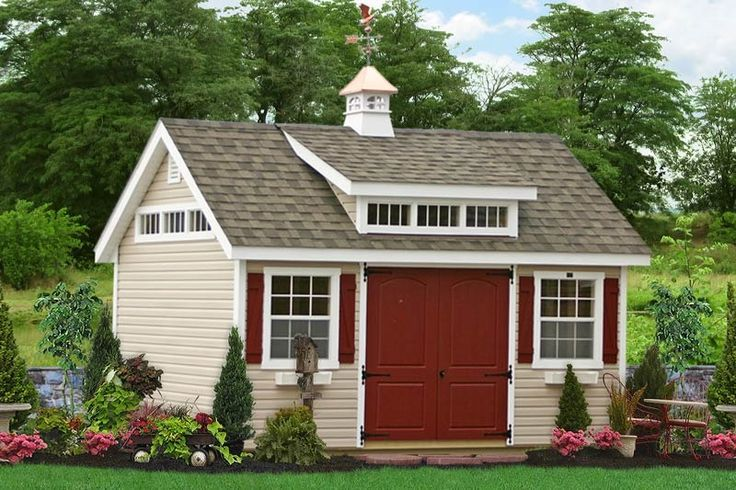 buy a beautiful vinyl sided garden shed direct from sheds unlimited in lancaster pa we are a builder of custom vinyl sided storage sheds custom vinyl