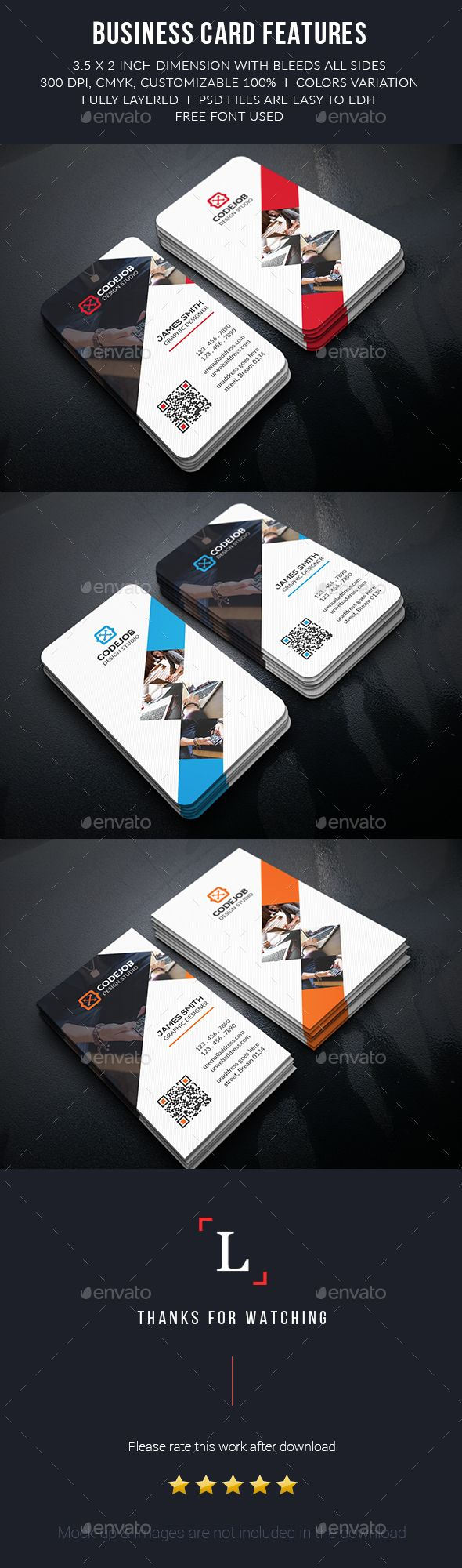 Corporate Business Cards Template PSD #visitcard #design Download: http://graphicriver.net/item/corporate-business-cards/13497196?ref=ksioks