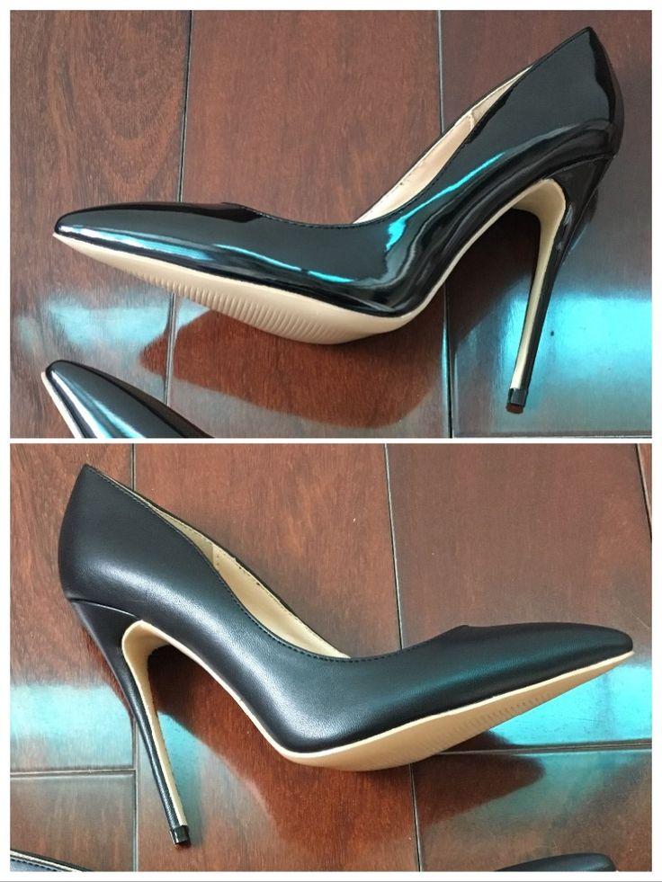 Black stiletto's 120mm