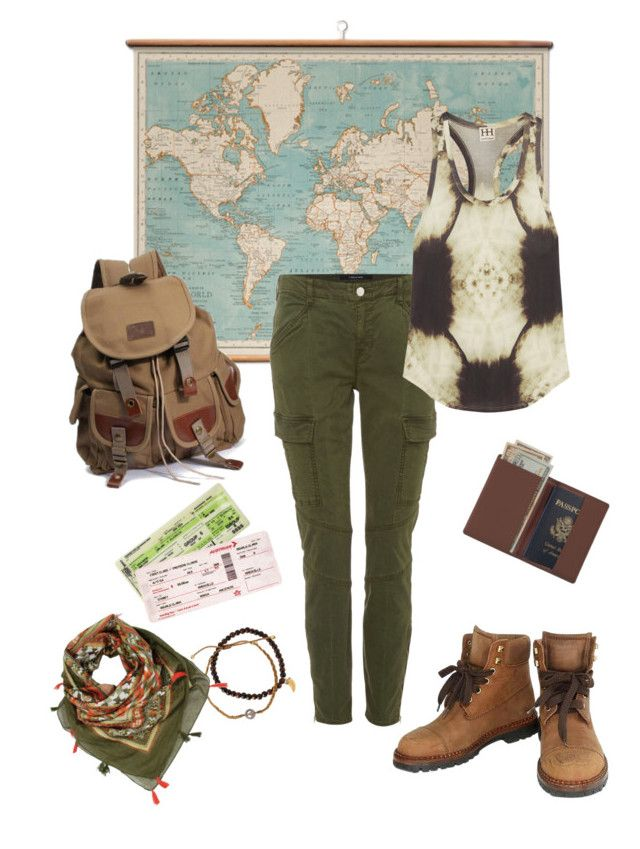 """""""Go where your heart shows"""" by gardenofroses on Polyvore featuring WALL, Chanel, J Brand, Haute Hippie, Royce Leather and Tai"""