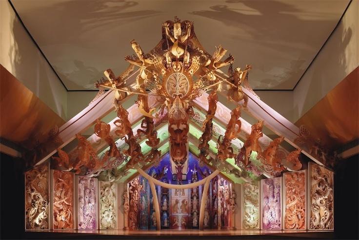 Te Papa museum's Marae - modern ...