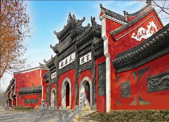 Changchun Taoist Temples, in Wuhan city, China
