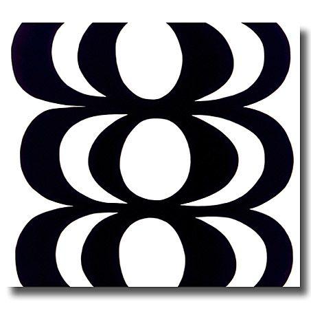 Marimekko Kaivo Black and White fabric