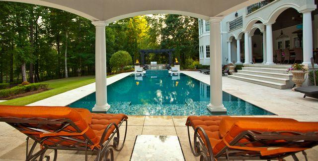 18 best custom pool and spa builders images on pinterest for Leblanc custom homes