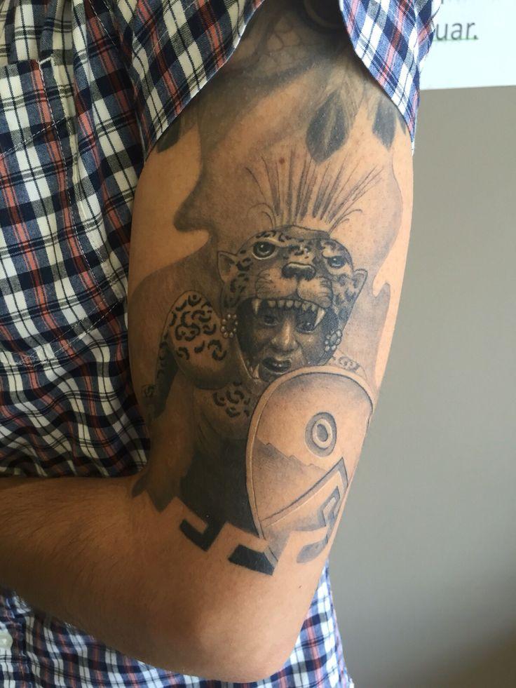 17 best images about azteca n mayan stuff on pinterest for Jaguar warrior tattoo