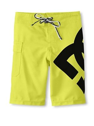 65% OFF DC Boy's 2-7 Lanai Board Short (Fluorescent Yellow)