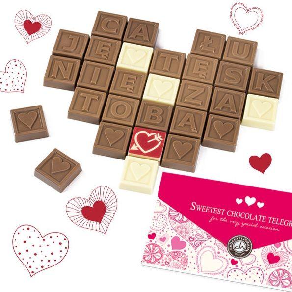 Słodkie wiadomości #chocolate #chocolissimo #love