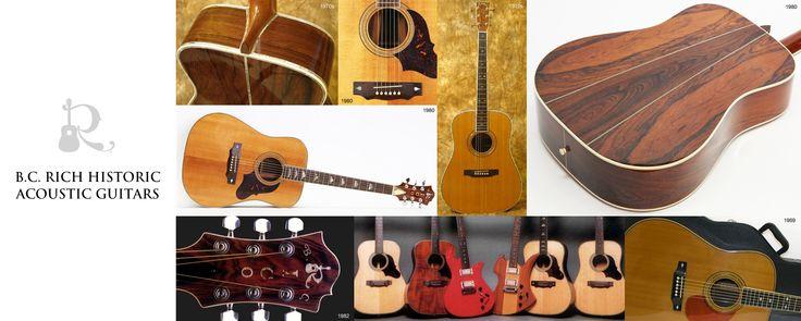 Acoustics | B.C. Rich Guitars
