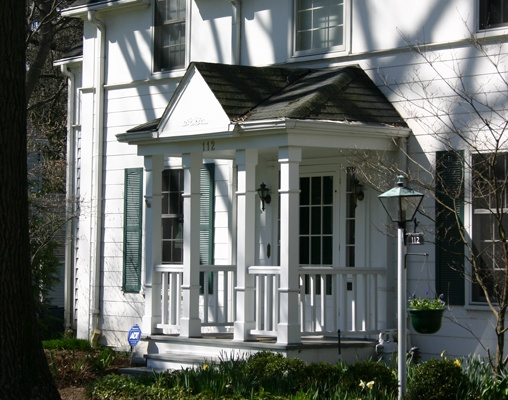 Good Details Help This Tiny Front Porch Addition Complete The Look Of An  Early 20th Century Colonial Revival Homeu2026u2026u2026.Learn More About How Better  Design ...