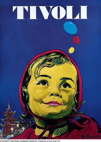 Peter Carlsen - Tivoli plakat 1995