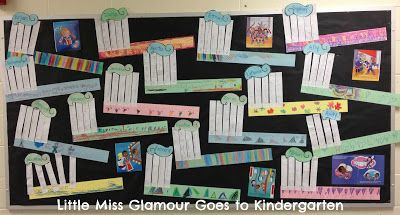 Little Miss Glamour Goes to Kindergarten: giant toothbrushes.