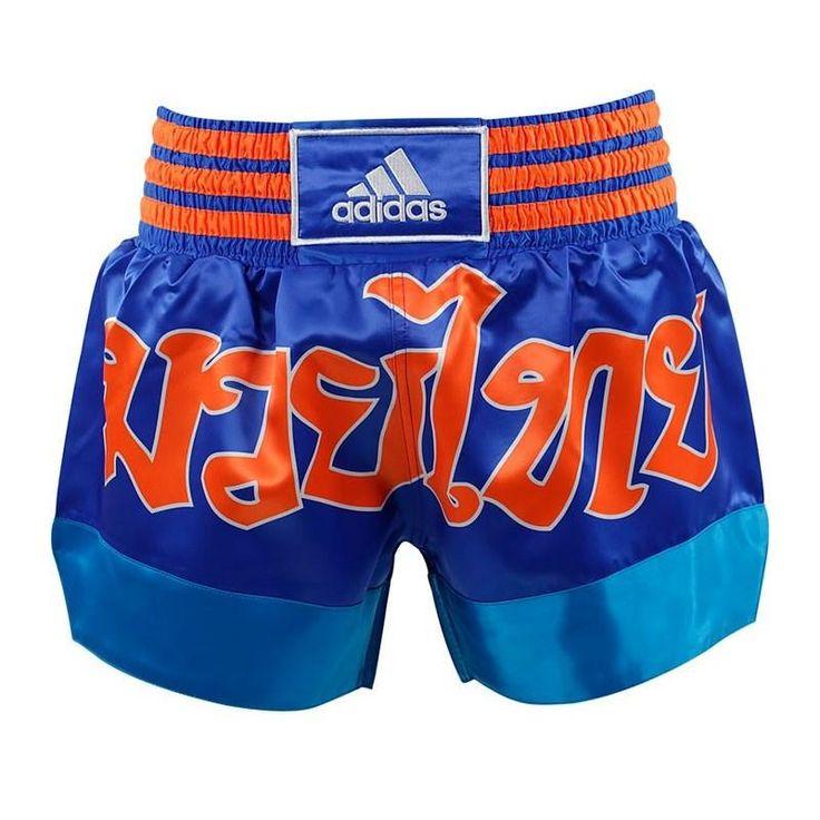 Short ADIDAS THAI-BOXING Azul y Naranja - €32.90   https://soloartesmarciales.com    #ArtesMarciales #Taekwondo #Karate #Judo #Hapkido #jiujitsu #BJJ #Boxeo #Aikido #Sambo #MMA #Ninjutsu #Protec #Adidas #Daedo #Mizuno #Rudeboys #KrAvMaga #Venum