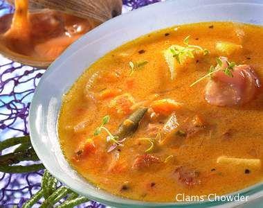Recette Soupe aux palourdes, notre recette Soupe aux palourdes - aufeminin.com